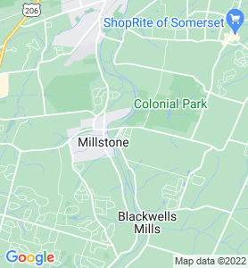 East Millstone NJ Map