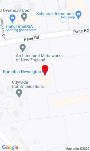 Google Map of East PBE 283 Pane Road, Newington, CT, 06111