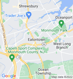 Eatontown NJ Map