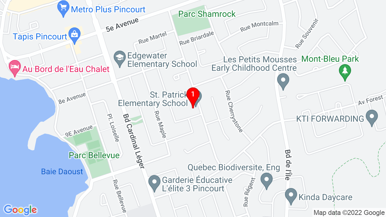 Google Map of Ecole St. Patrick School