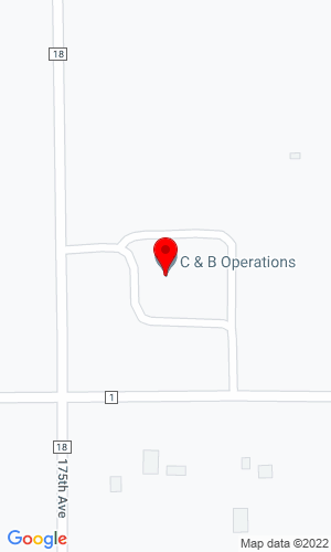 Google Map of Edgerton Implement 1760 16th Street, Edgerton, MN, 56128