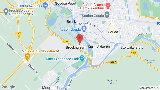 Ford+Gouda op Google Maps