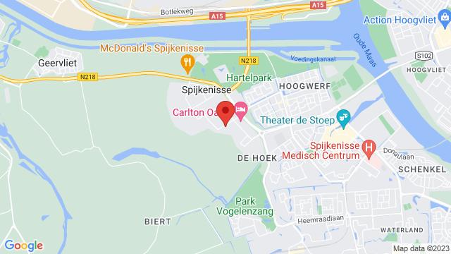 Spijkenisse op Google Maps