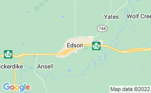 Map of East of Edson RV Resort