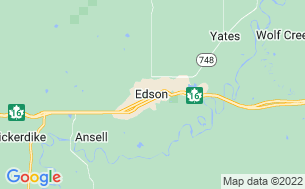 Map of Edson RV Park & Campground