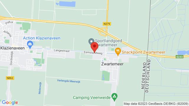 Zwartemeer op Google Maps