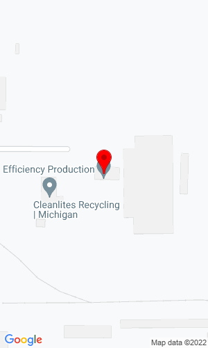 Google Map of Efficiency Production, Inc. 685 Hull Road, Mason, MI, 48854