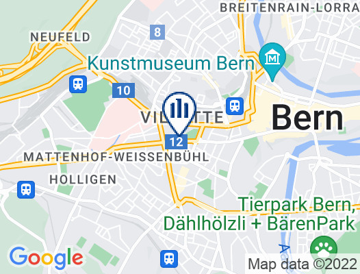 Google Map of Effingerstrasse 34 3001 Bern
