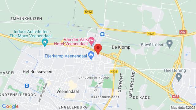 Renault+Bochane+Veenendaal op Google Maps