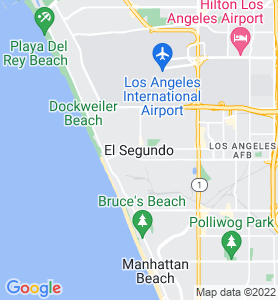 El Segundo CA Map
