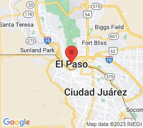 Job Map - El Paso, Texas  US