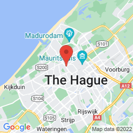 Google map of De Grote Pyr, Den Haag
