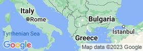 Elbasan map