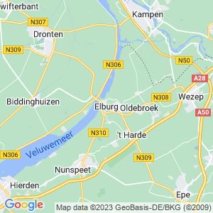 Werkgebied van onze bestrijder in Elburg