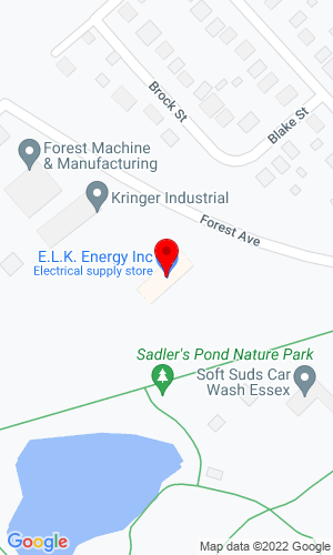 Google Map of Elk Power & Equipment 1355 Rosely Roaed, St Mary's, PA, 15857