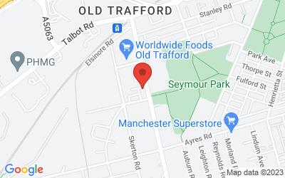 Map of PinnaClear Trafford