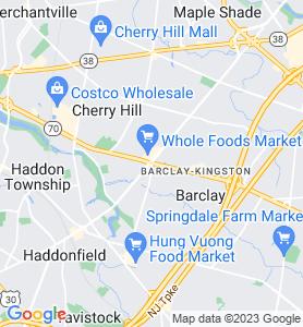 Ellisburg NJ Map