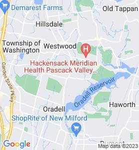 Emerson NJ Map