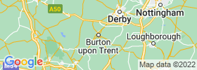 Burton Upon Trent map