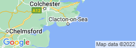 Clacton On Sea map