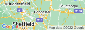 Doncaster map