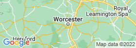 Worcester map