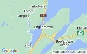 Map of Englishtown Ridge Campground