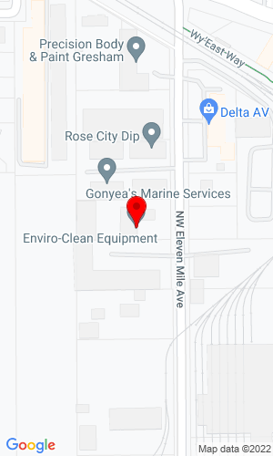 Google Map of Enviro Clean Equipment 2395 NW Eleven Mile Avenue, Gresham, OR, 97030