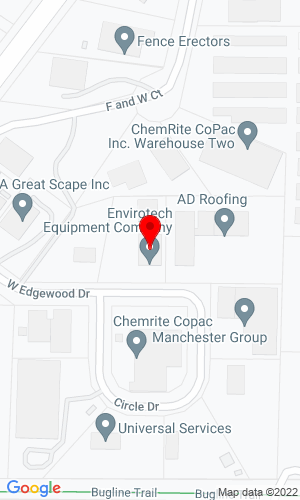 Google Map of Enviro Tech Equipment LLC 923 Sanctuary Ct , Pewaukee, WI, 53072