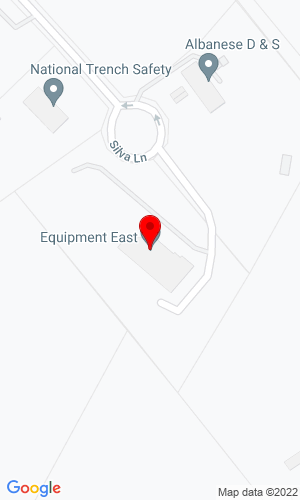 Google Map of Equipment East 61 Silva Lane, Dracut, MA, 01826