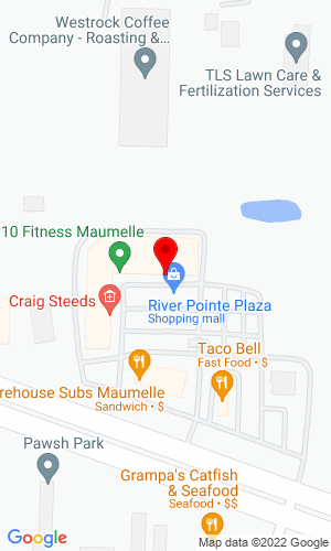 Google Map of Equipment Resource Management, Inc. 11815 Maumelle Blvd, North Little Rock, AR, 72113