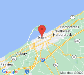 Job Map - Erie, Pennsylvania  US