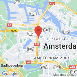 Google map of St. Josephkerk, Amsterdam