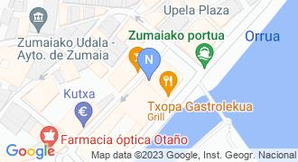 Endañeta etxe tresnak mapa