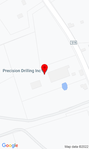 Google Map of Errickson Equipment, Inc. 277 County Road 519, Stockton, NJ, 08559
