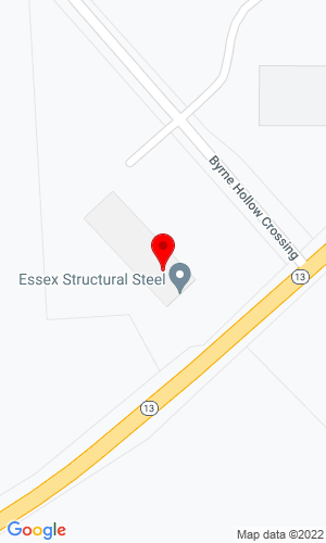 Google Map of Essex Structural Steel Co., Inc. 607 State Route 13, Cortland, NY, 13045