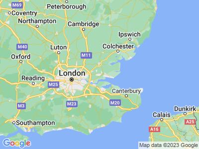 Car crash in Essex