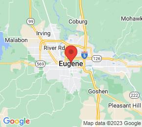 Job Map - Eugene, Oregon  US