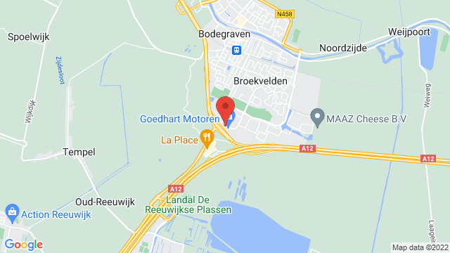 Occasions+Bodegraven op Google Maps