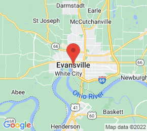Job Map - Evansville, Indiana 47701 US