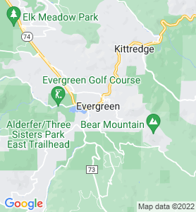 Evergreen CO Map