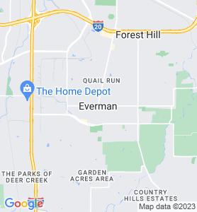 Everman TX Map
