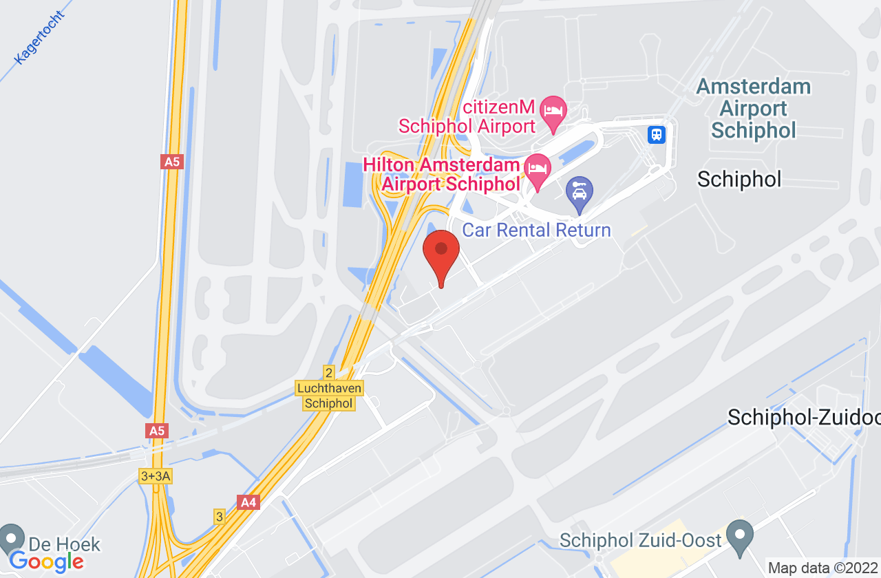 Belastingdienst / Douane regiokantoor Schiphol Cargo on Google Maps