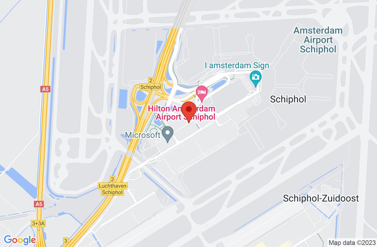 Schiphol Valet Parking on Google Maps