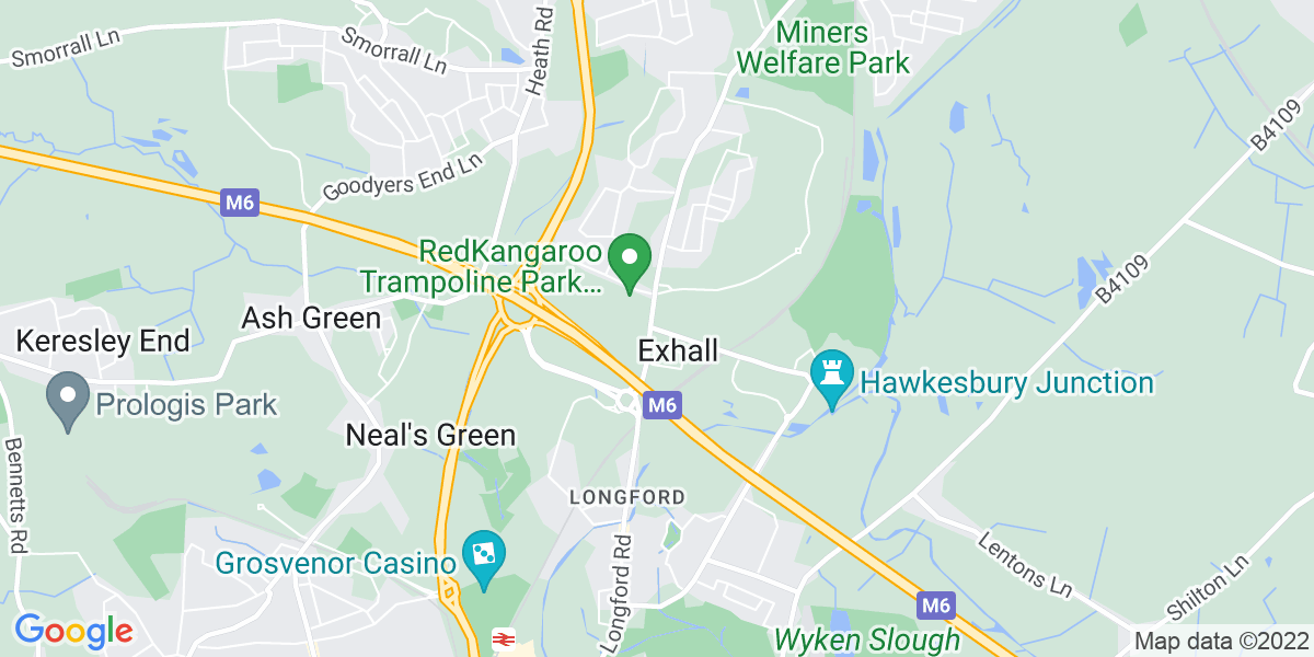 Map: Quality Engineer position in Exhall