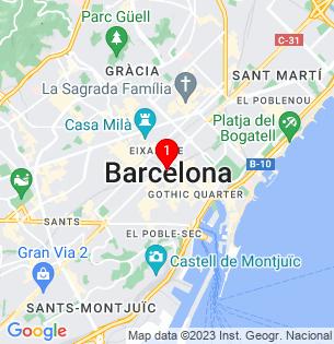 Google Map of FONT DE LA MATA, Castellbell i el Vilar, BARCELONA, Spain