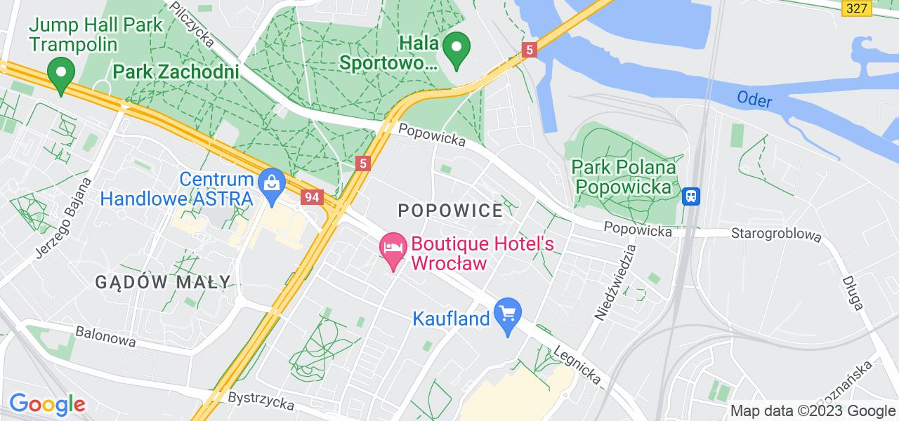 Osiedle Fabryczna - Popowice w Wrocławiu – w tych punktach ekspresowo wyślesz turbinę do autoryzowanego serwisu