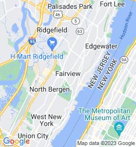 Fairview NJ Map