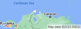 Falcón map
