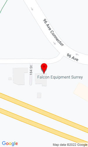 Google Map of Falcon Equipment, Ltd 18412 96th Avenue, Surrey BC, CN, V4N 3P8